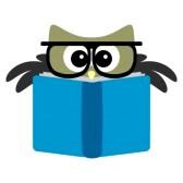168x168 Owl Reading Clip Art Clipart Panda