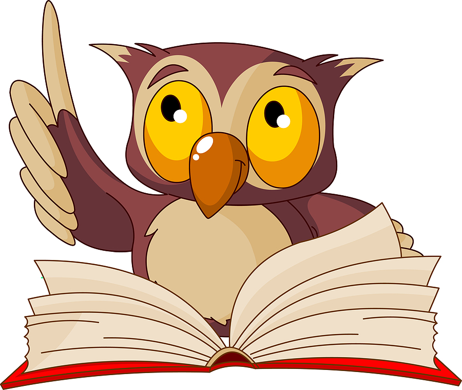 900x759 Read A Book Wise Owl Clipart