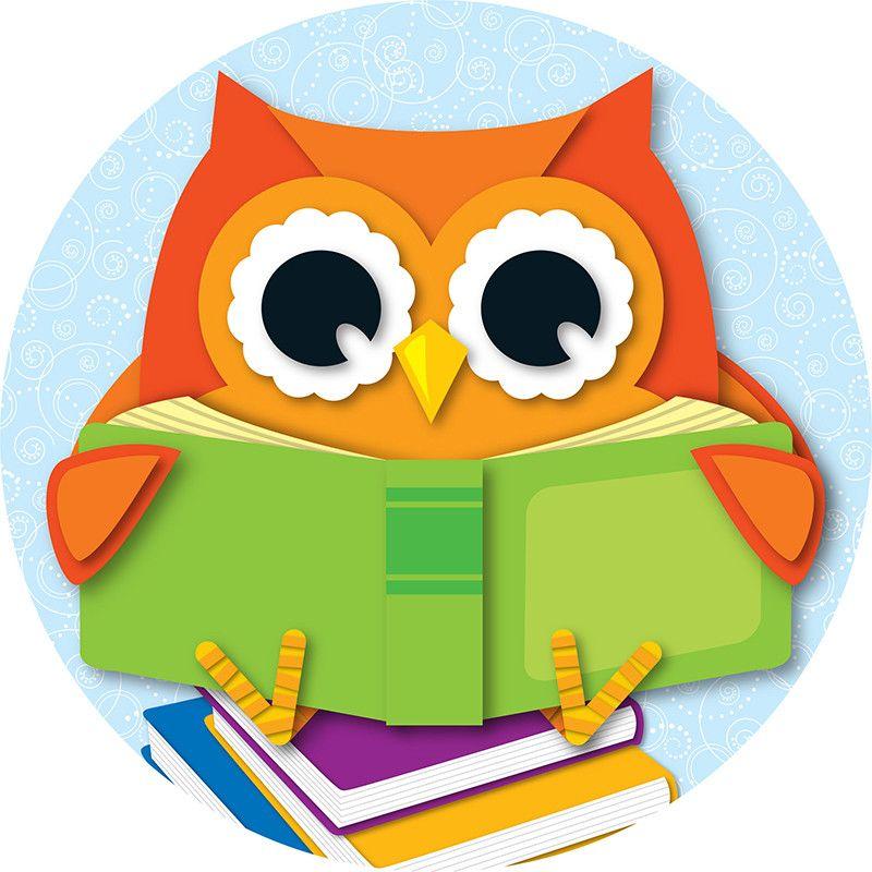 800x800 Reading Owl Two Sided Decorations Kindergarten, Kindergarten