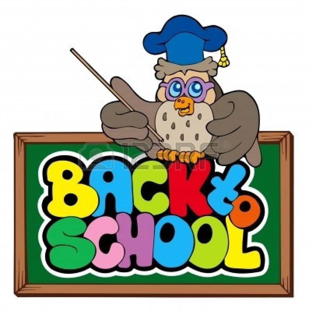 1191x1200 Free Back To School Owl Clipart Image