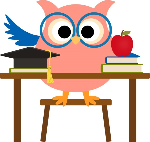 640x606 Free Owl Clipart For Teachers