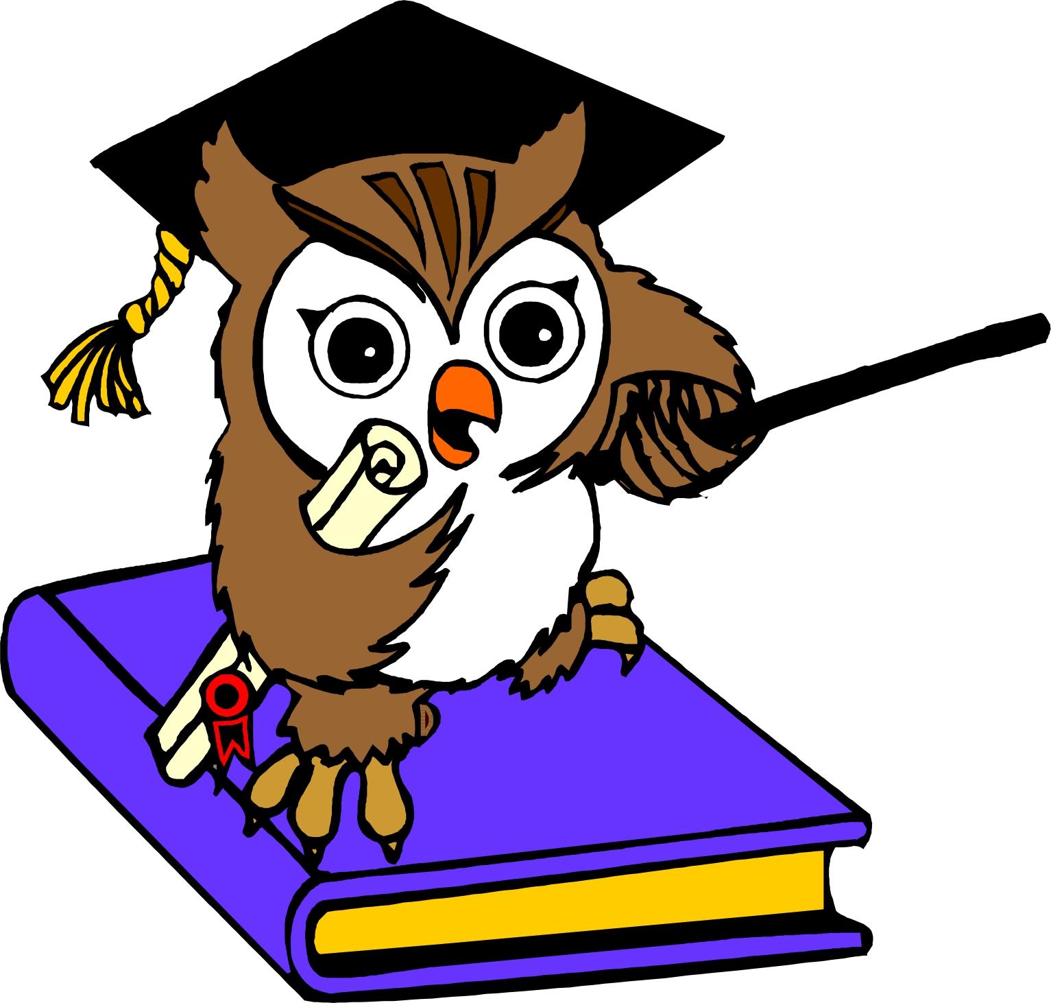 1533x1462 Image of School Owl Clipart