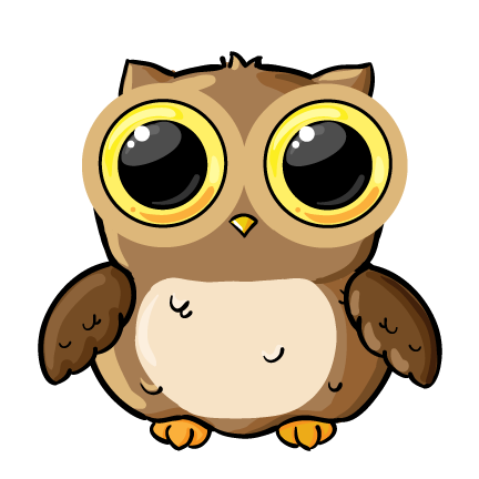 432x432 Owl School Clipart