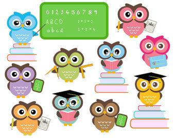 340x270 Owl School Clipart Clipart Panda