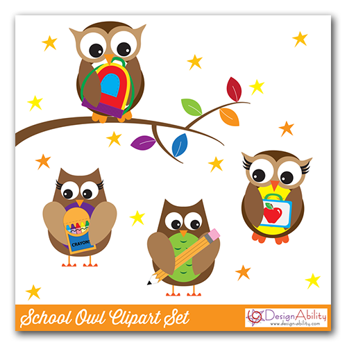 500x500 Owl Clipart Pencil