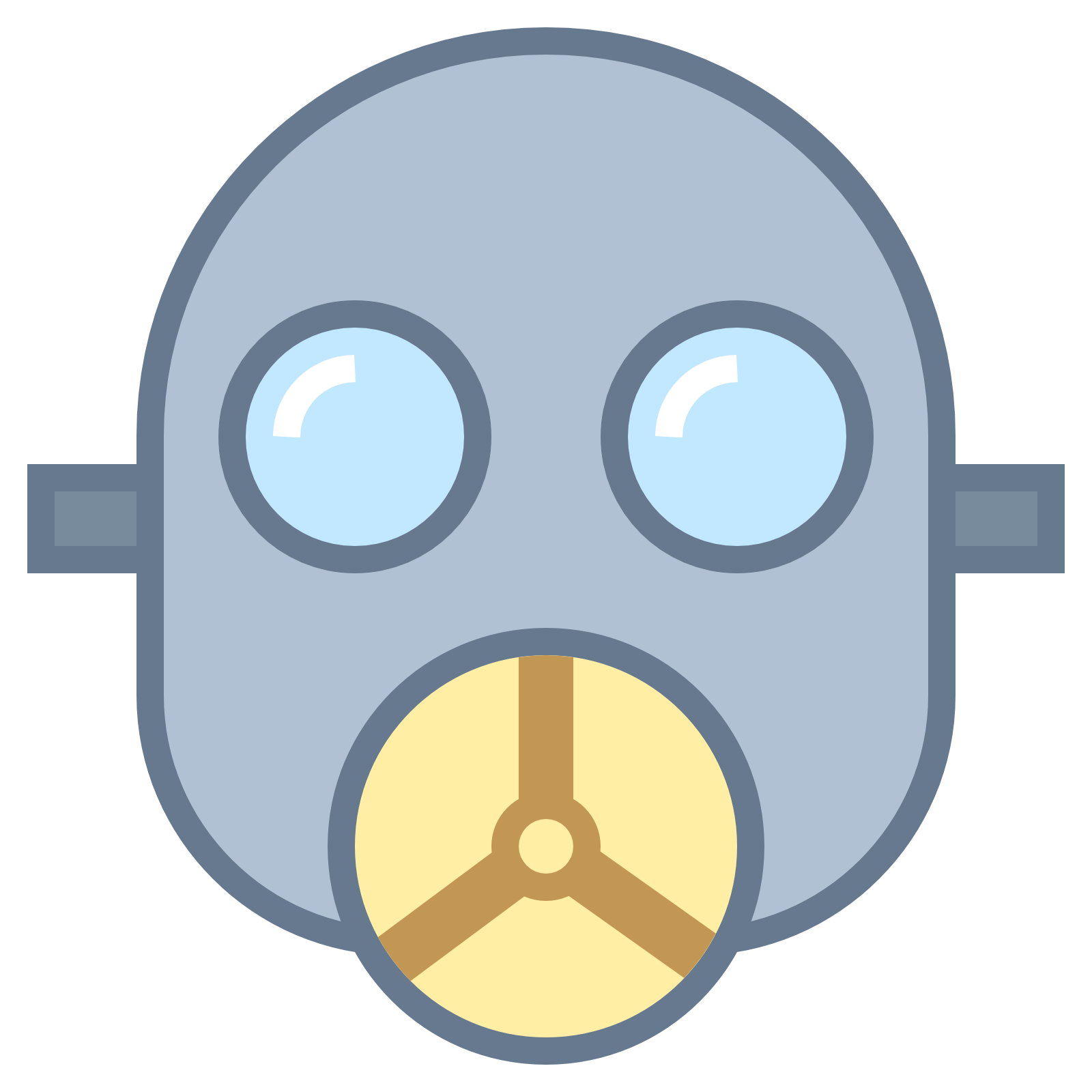 1600x1600 Gas Mask Clipart Oxygen Mask