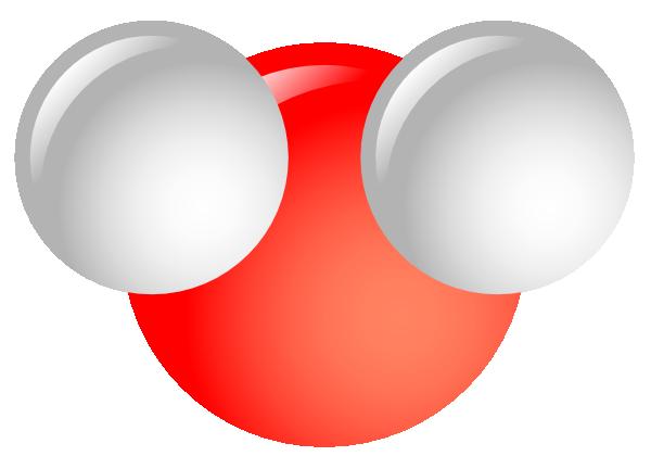 600x432 Water Molecule Clip Art