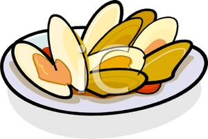 300x201 Food Clipart Oyster