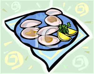 300x237 Oyster Clipart