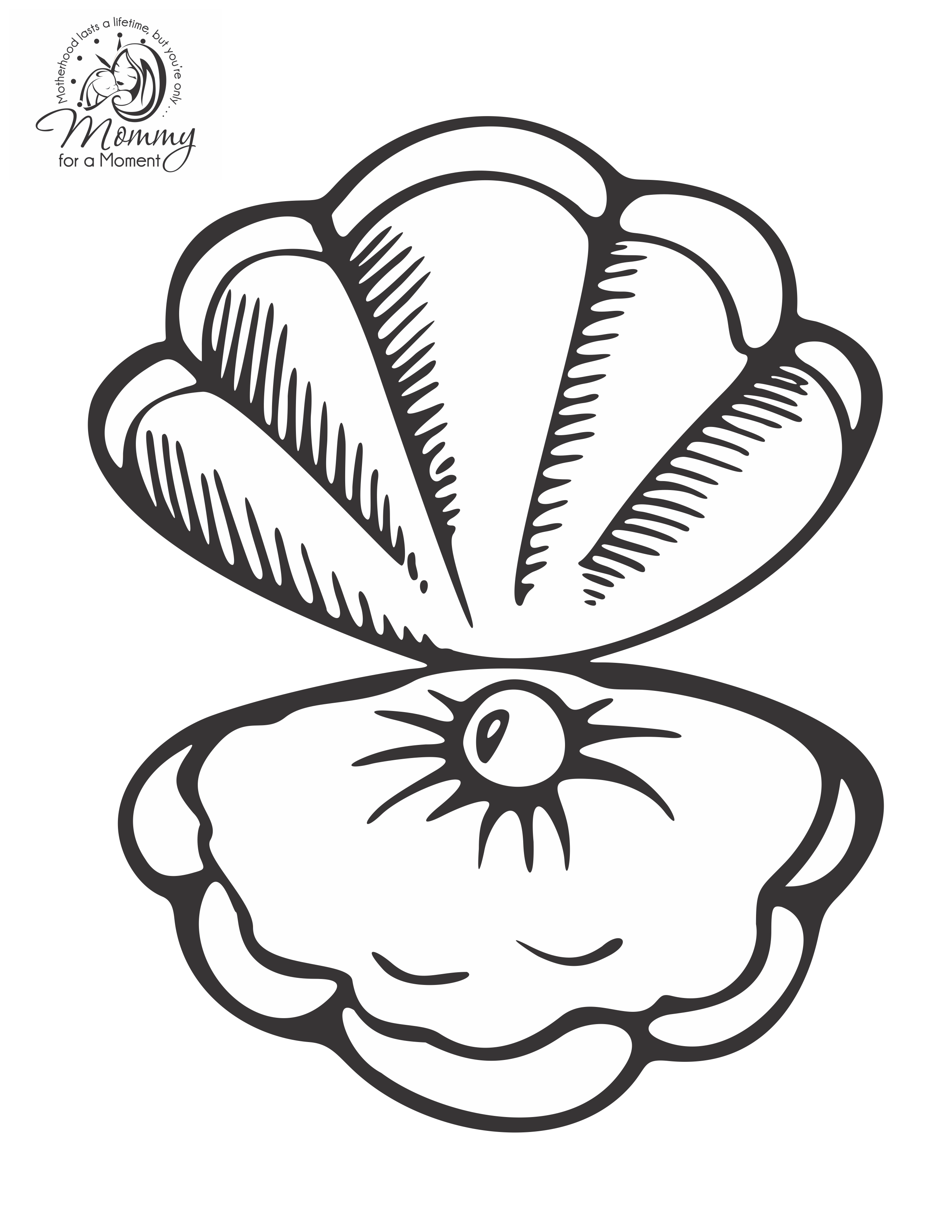 2551x3301 Pearl Clipart Oyster Drawing