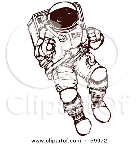 450x470 Top 74 Astronaut Clip Art