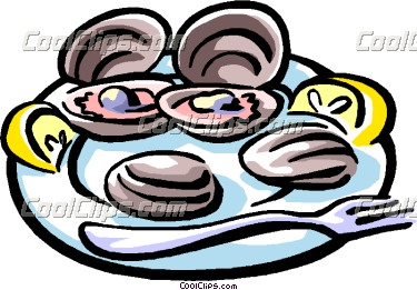 375x261 Oysters Clipart