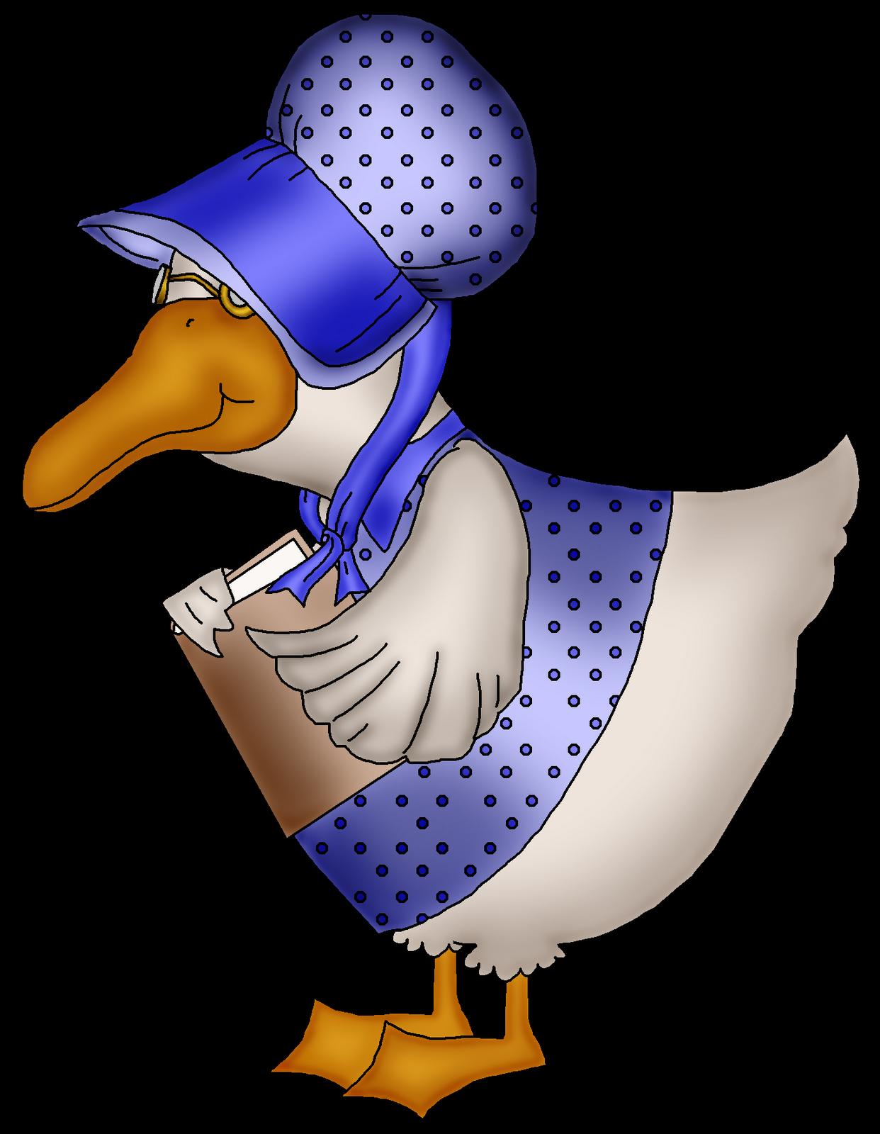 1242x1600 Goose Clip Art