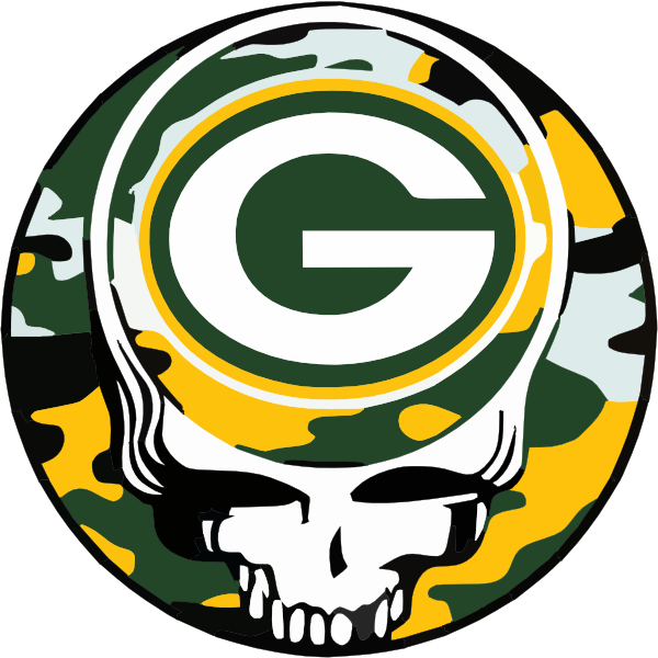 600x600 Grateful Dead Packers Clip Art