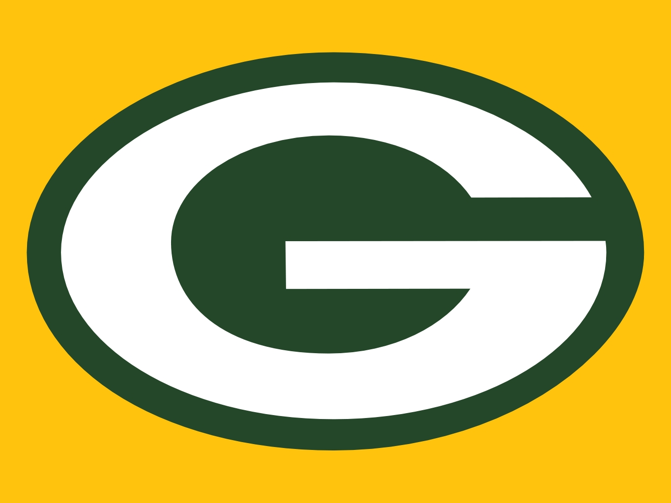 1365x1024 Green Bay Packer Logo Clip Art