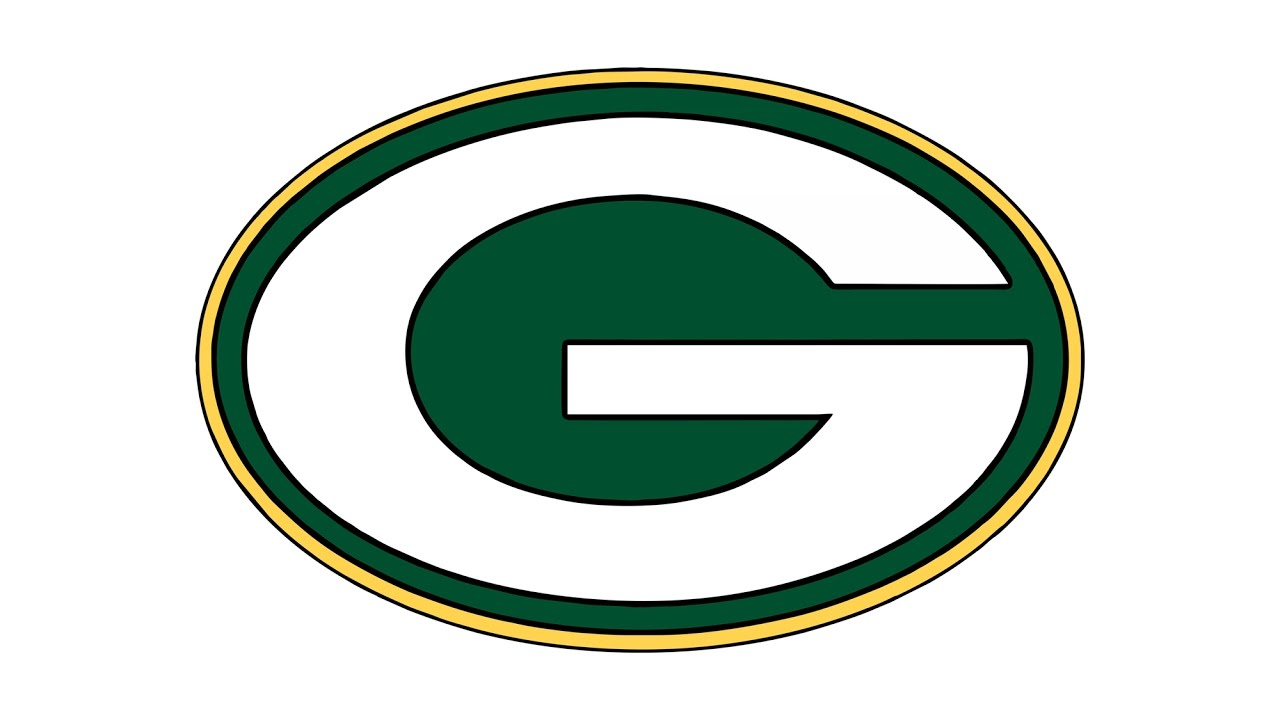 1280x720 How To Draw The Green Bay Packers Logo (Nfl)