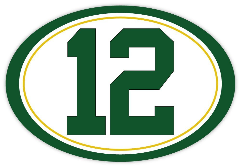 1000x701 N12 Number 12 Aaron Rodgers Gbp Green Bay Packers