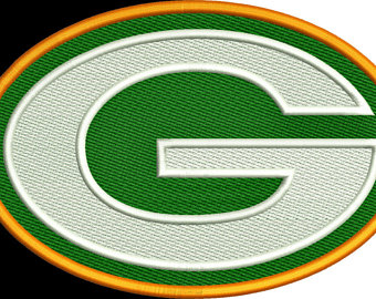 340x270 Packers Embroidery Etsy