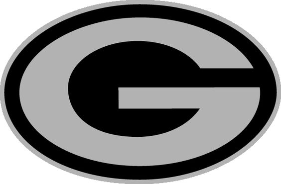 564x370 Green Bay Packers Logo Black And White