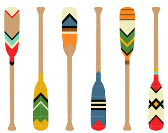 340x270 Paddle Clipart Etsy