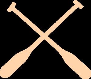 298x258 Rowing Oars Clip Art