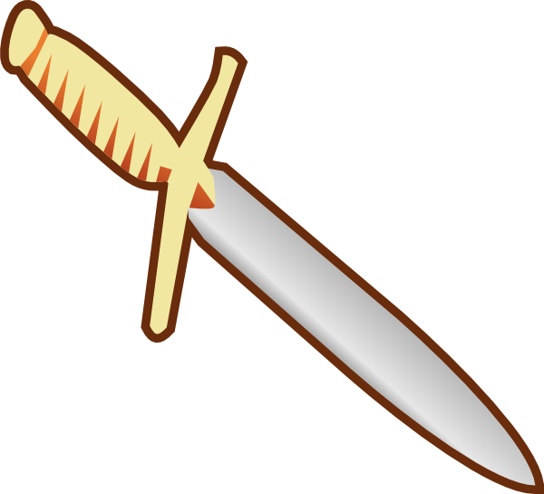 600x545 Pagan Knife Clip Art