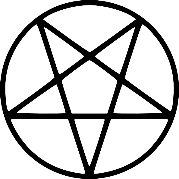 594x594 Vector Pagan Pentagram Free Vector Download (49 Free Vector)