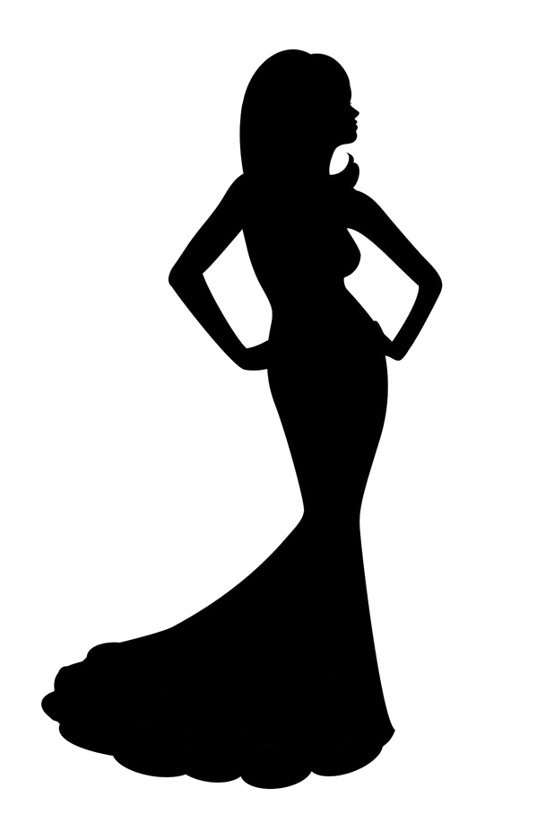 618x927 Gown Clipart Pageant
