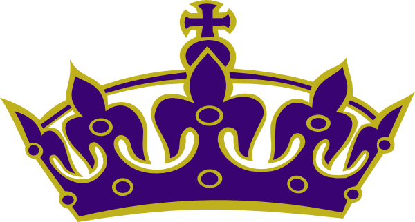 600x322 Purple Princess Pageant Clip Art