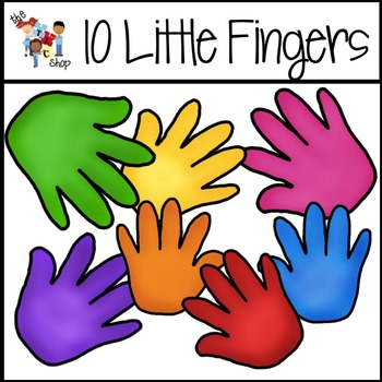 350x350 Tlc Shop Clip Art 10 Little Fingers And Toes By The Tlc Shop Tpt