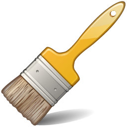 256x256 Paintbrush Artist Paint Brush Clip Art Free Clipart Images Image 2