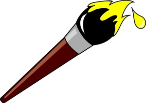 300x213 Paintbrush Paint Brush Clip Art Free Clipart Images 2