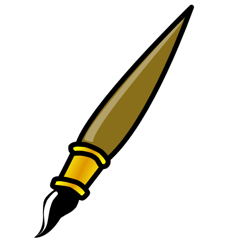 500x500 Paintbrush Paint Brush Clip Art Is Free Free Clipart Images Image
