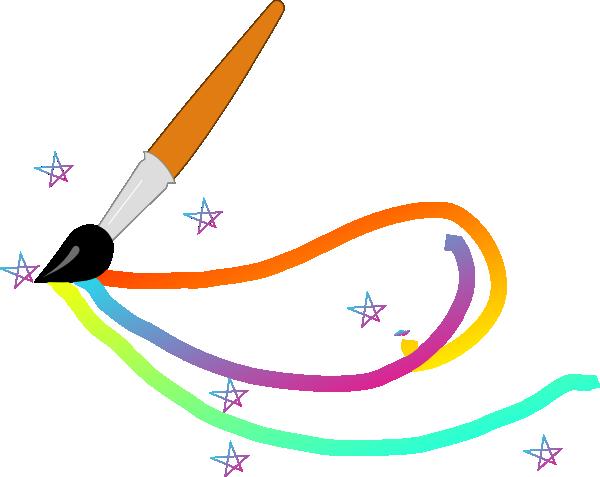 600x477 Magic Paintbrush Clip Art