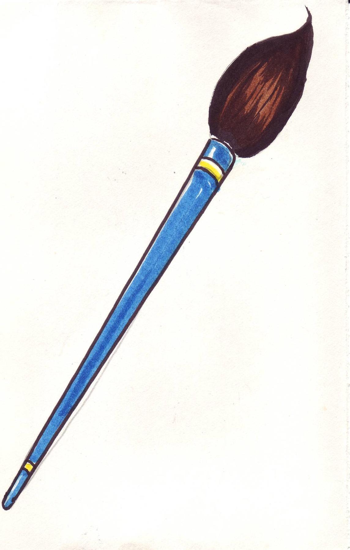 1144x1798 Paintbrush Artist Paint Brush Clip Art Free Clipart Images 3