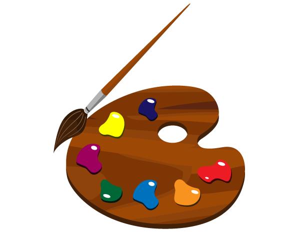 600x467 Paintbrush Artist Paint Brush Clipart Kid 2