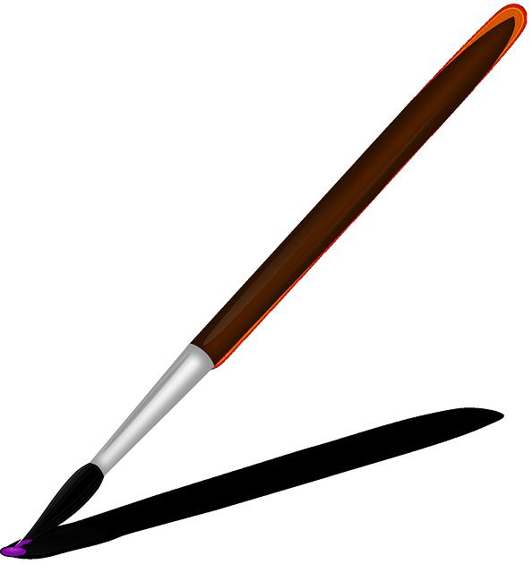 594x640 Paintbrush Paint Brush Clipart The Cliparts
