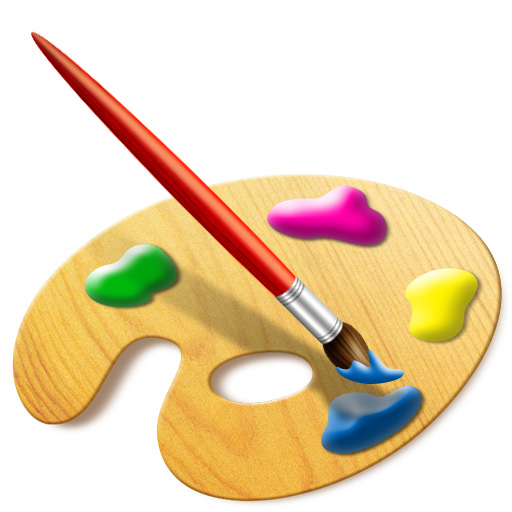 512x512 Painting Brush Creating A Set Of Digital Painting Icons Part 3