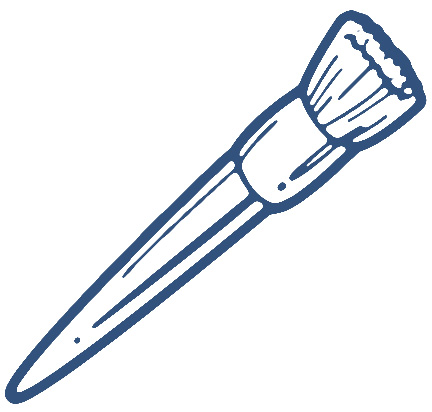 432x412 Best Paint Brush Clip Art