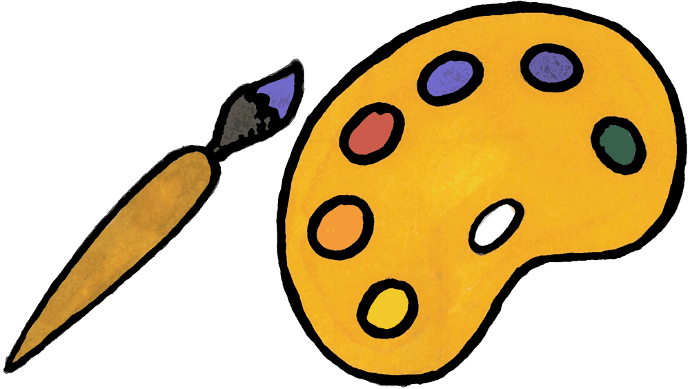 1000x564 Paintbrush Clipart To Download