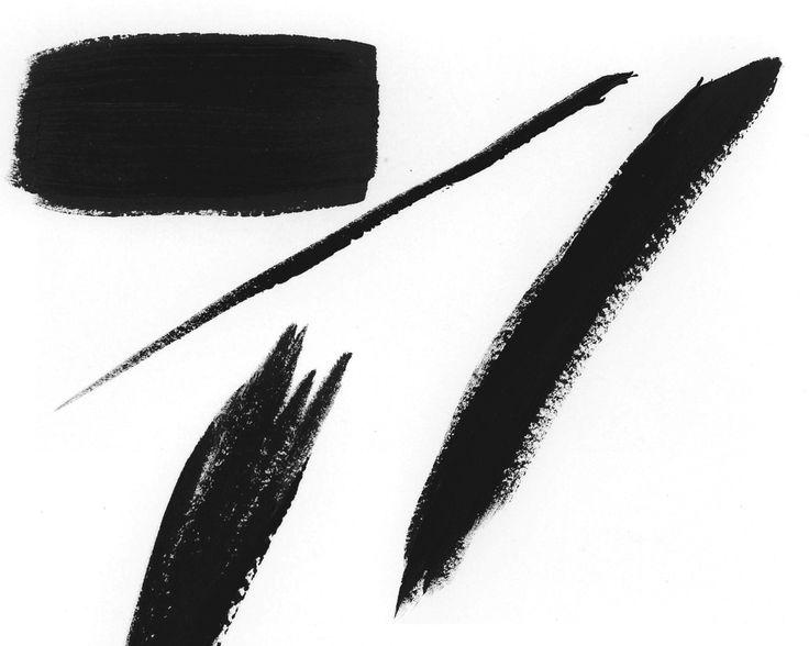 736x588 Best Brush Stroke Png Ideas Pink Black