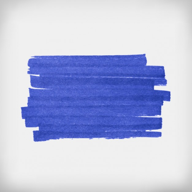 626x626 Blue Brush Strokes Vector Free Download