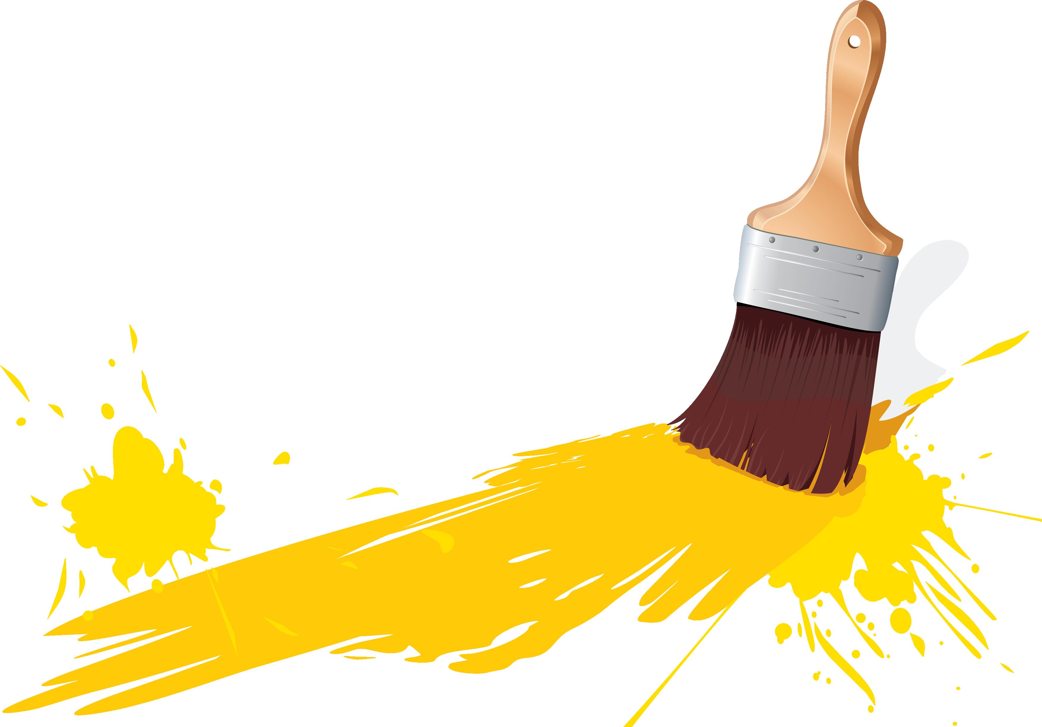 3498x2441 Paint Brush Png Transparent Paint Brush.png Images. Pluspng