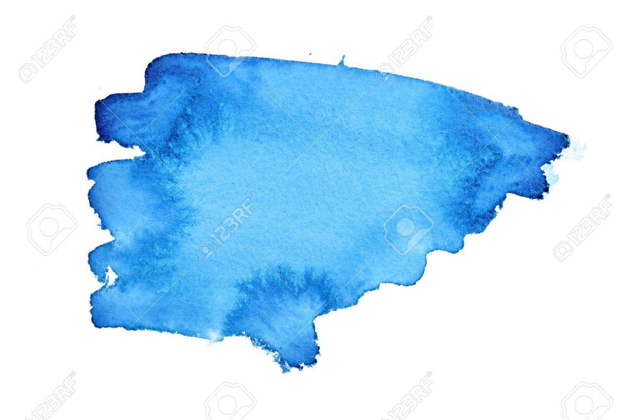 1300x866 Paint Brush Stroke Blue. Grunge Brush Strokes Of Blue Paint Stock