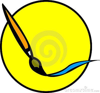 400x371 Paint Brush Stroke Clipart Clipart Panda