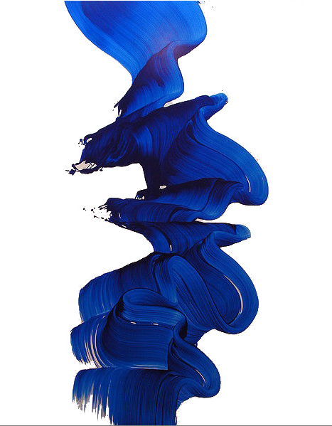 467x599 Painting The Unthinkable Cobalt Blue, Sketchbooks And Artsy