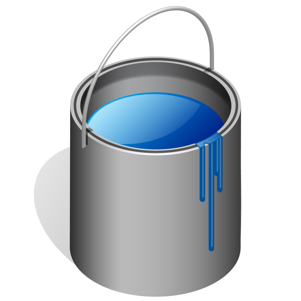 1000x1000 Paint Bucket Clip Art