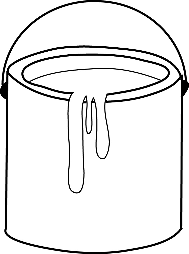 758x1019 Paint Bucket Clip Art Preschool Paint Buckets