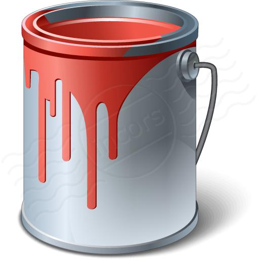 512x512 Paint Clipart Paint Bucket