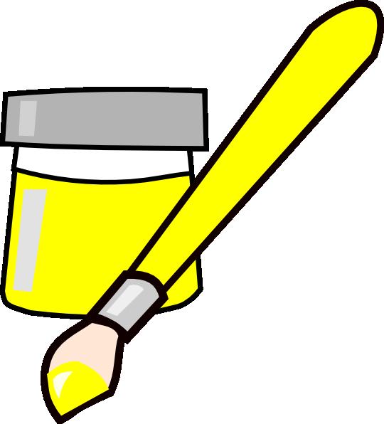540x596 Paintbrush Artist Paint Brush Clip Art Free Clipart Images 4 Image